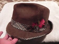 da1c99a5b94d3b Vintage Dobbs Suede Felt Fedora Size 7 1/8 Very Good Condition!