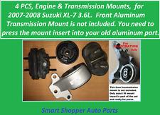 4 PCS Engine & Transmission Mount for 2007 2008 Suzuki XL-7 3.6L only