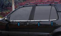 Mercedes ML W163 1996-2006 chrome windows frame trim 6pcs 4door S.STEEL
