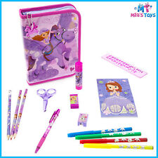 Disney Sofia the First Zip Up Stationery Kit Pencil Case markers scissors ruler