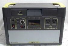 Goal Zero 38002 Yeti 1400 Lithium Portable Power Station $2800 - As Is