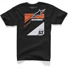 Camisetas de hombre Alpinestars 100% algodón talla M