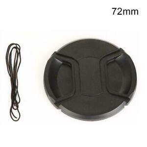 72mm Front Lens Cap Hood Cover Snap on For Camera Len New Nikon Canon Sigma G4Q5