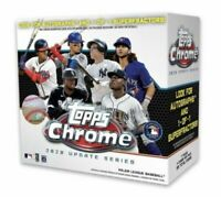 5 Lot 2020 MLB TOPPS CHROME UPDATE SERIES MEGA BOX Robert, Lewis, Auto?