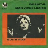 "Edith Piaf Fallaitil / Mon Vieux Lucien 7"" Single Vinyl Schallplatte 27526"
