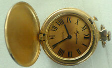 ANTIQUE MAJESTIME POCKET WATCH 17 JEWELS WORKING VERY SMALL & UNIQUE