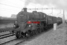 PHOTO  BR STD 4MT 4-6-0 75054 AT ALVECOTE IN THE 1960S. IMAGE