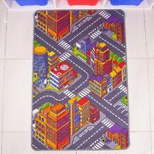 Deal Kids Colourful Fun Roads Car City Mat Only £10