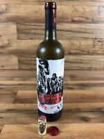 The Walking Dead 2016 Rick Grimes Wine Bottle Augmented Reality Living Label