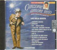 CANZONE AMORE MIO Luci della Rivista di Paolo Limiti CD Audio