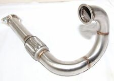 "SS 2.5"" V-BAND Turbo DownPipe  for Honda Civic 88-00 Del Sol 93-97"