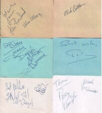 DEXYS MIDNIGHT RUNNERS (1985) SIGNED AUTOGRAPHS