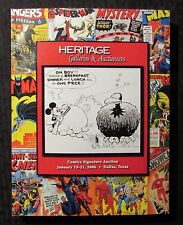 2006 Heritage Comics Signature Auction Catalog #819 VF- 7.5 442pgs Mickey Mouse
