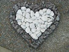 Herzgitter, Herz mit Steinfüllung, Gabionenherz