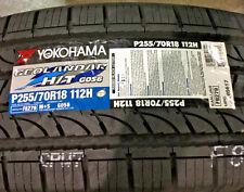 4 New 255 70 18 Yokohama Geolandar H/T G056 Tires