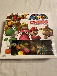 Super Mario Chess Collector's Edition Chess Set Super Mario Bros