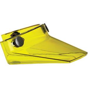 Biltwell Moto Visor Yellow Beak Peak 3-snap fits Gringo + Bonanza  | 2002-103