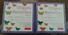 Origami Butterflies Butterfly Mini Kit Lot Of 2 Art Craft Sets NEW