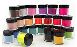 ACRYLIC NAIL POWDER 18 COLORS SHIPPED TO YOU. CUSTOM MADE COLORS. 5 GRAMS EACH.