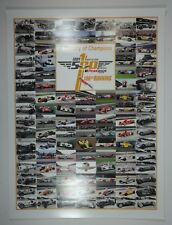 A Century of Champions 2016 Indianapolis 500 Winner Photos Collector Poster IMS