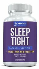 Ahana Nutrition Sleep Aid - Over The Counter Sleeping Pills With Melatonin