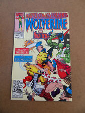 Marvel Comics Presents 107 . Wolverine / Nightcrawler . Marvel 1992 .FN / VF