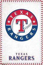 TEXAS RANGERS - LOGO POSTER - 22x34 - MLB BASEBALL 15726