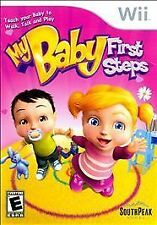 My Baby: First Steps (Nintendo Wii, 2009) BRAND NEW