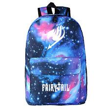 Anime Fairy Tail Bag Luminous Canvas Rucksack Backpack School Shoulder Cosplay