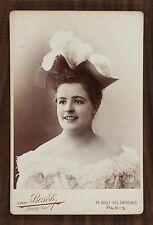 Marion Delorme, Actrice de théâtre, Photo Cabinet card, Van Bosch