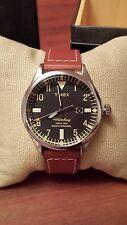 NWT Timex Waterbury x Red Wing 40mm Indiglo Original Watch TW2P84000