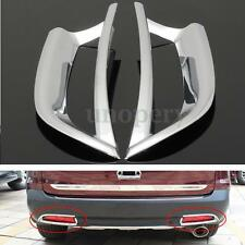 Chrome ABS Tail Rear Fog Light Trim Decoration Cover For Honda CRV CR-V 2012-14
