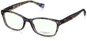 Coach Women's HC6065 Eyeglasses Confetti Purple 51mm