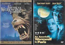 New listing 2 Dvds:An American Werewolf In London 1981 David Naughton/Paris 1997 Julie Delpy