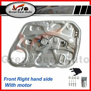 RH Front Right Side Window Regulator For Hyundai I30 FD 07~12 With Motor & Panel
