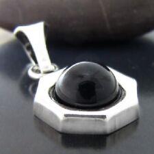 Onyx Silber 925 Anhänger Sterlingsilber Damen schmuck A107