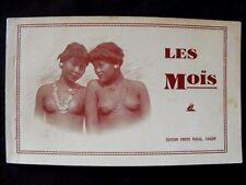 Les Moïs tribus Indochine - Carnet de 12 cartes postales.  photo Nadal, Saigon.