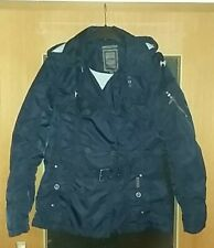 DreiMaster Damenjacke Regenjacke Outdoorjacke Trenchcoat Marineblau Gr. L