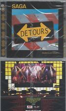 CD--LIVE | DOPPEL-CD/ SAGA--DETOURS