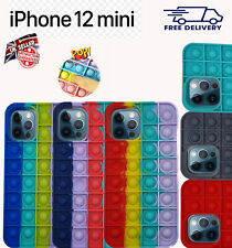 Case Cover Fidget Push Pop Bubble Phone Cover For iPhone 12 mini UK Stock