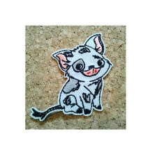 Pua - Moana - Pet Pig - Farm Animal - Piglet - Embroidered Iron On Patch