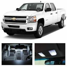 16x White Interior LED Lights Package Kit Fits 2007-2012 Chevy Silverado #A91