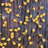 50x 100x Molotow / Mtn / Montana / Lego / Yellow with Black Dot Caps