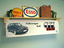 VW MK2 Golf 16V GTI Banner Volkswagen workshop Garage
