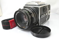 [EXCELLENT]Hasselblad 503CX Body + CF 80mm F/2.8 Lens + A12 Film back w/Strap