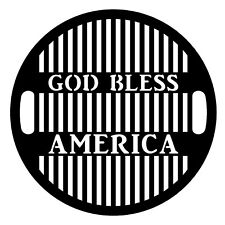 """God Bless America Charcoal Grate 21.3"""" Fit Round Weber Jumbo Joe charcoal grill"""