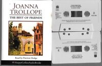 2 cassette AUDIO BOOK THE BEST OF FRIENDS joanna trollope read by patricia hodge
