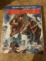 Jurassic Dead Blu Ray Dvd Combo With Slipcover Brand New