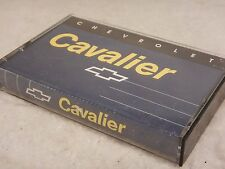 Chevrolet Cavalier Cassette New Vehicle Features / Radio Controls