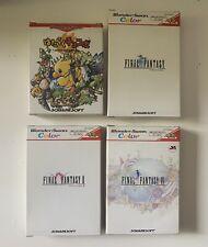Lot 4 Jeux FINAL FANTASY Bandai Wonderswan Color Japan